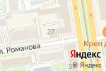 Схема проезда до компании Guru Bar в Новосибирске