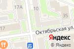 Схема проезда до компании Рента-плюс в Новосибирске