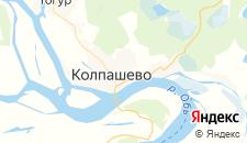 Отели города Колпашево на карте
