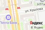 Схема проезда до компании Старая Прага в Новосибирске