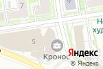 Схема проезда до компании Росбанк, ПАО в Новосибирске