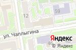 Схема проезда до компании Zefir в Новосибирске