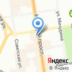 Рахат на карте Новосибирска