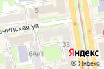 Схема проезда до компании Мэинстафф в Новосибирске