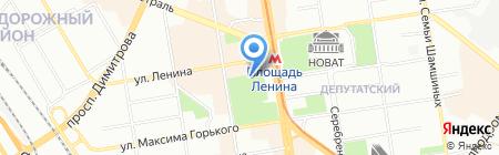 PARK Сafe на карте Новосибирска