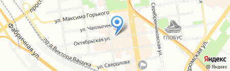 Продукто! на карте Новосибирска