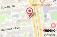 Схема проезда до компании Глэммьюзик в Новосибирске