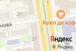 Схема проезда до компании Мятный карась в Новосибирске