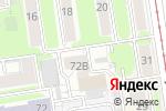 Схема проезда до компании Фигаро в Новосибирске