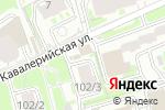 Схема проезда до компании Магазин фруктов и кондитерских изделий в Новосибирске