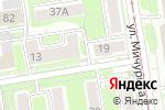 Схема проезда до компании Bistrov в Новосибирске