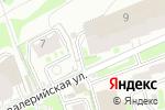 Схема проезда до компании Ассоциация практикующих бизнес-тренеров в Новосибирске