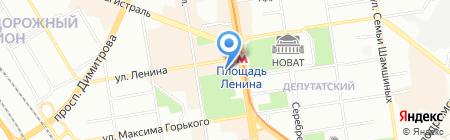 Вассер Групп на карте Новосибирска