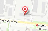 Схема проезда до компании Алтай Южный в Новосибирске