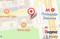 Схема проезда до компании Софтсиб в Новосибирске