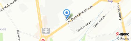 Антар на карте Новосибирска