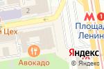 Схема проезда до компании Posh в Новосибирске