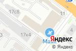 Схема проезда до компании АЦТЕК в Новосибирске