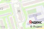 Схема проезда до компании Движение в Новосибирске