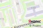 Схема проезда до компании Опорный пункт полиции в Новосибирске