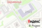 Схема проезда до компании Хайнань в Новосибирске