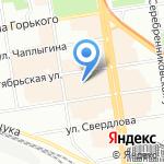 Золно на карте Новосибирска