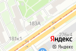 Схема проезда до компании New York City School в Новосибирске