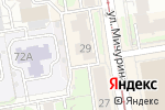 Схема проезда до компании Елизавета в Новосибирске
