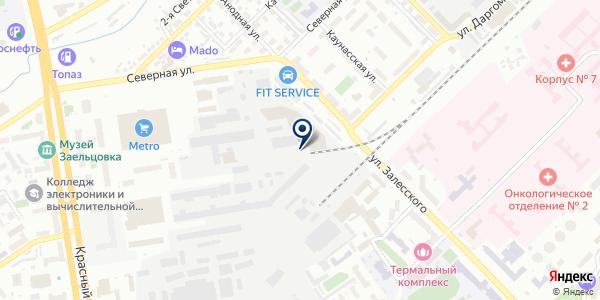 МИК-С на карте Новосибирске