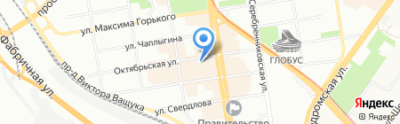 Успех на карте Новосибирска