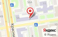 Схема проезда до компании Музыка Ветра в Новосибирске
