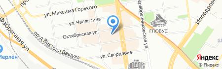 Эль-Косметик на карте Новосибирска