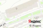 Схема проезда до компании АРСЕНАЛ БЕЗОПАСНОСТИ в Новосибирске