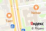 Схема проезда до компании Регистериум в Новосибирске