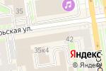 Схема проезда до компании StreetLab в Новосибирске