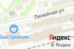 Схема проезда до компании ПакПлюс в Новосибирске