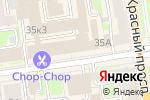 Схема проезда до компании 113 Медиа в Новосибирске