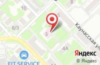 Схема проезда до компании Издательский Дом« Медиа Формат» в Новосибирске