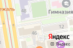 Схема проезда до компании Twiggy в Новосибирске