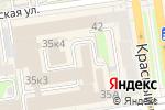 Схема проезда до компании Кассовый мир в Новосибирске