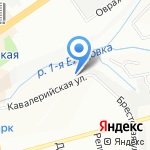 Винтаж на карте Новосибирска