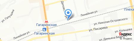 СКП Сервис на карте Новосибирска