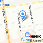 Сувениркин на карте Новосибирска