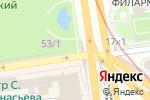 Схема проезда до компании Точка Кофе в Новосибирске