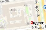 Схема проезда до компании Сибирский партнер в Новосибирске