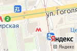 Схема проезда до компании Coffee, please в Новосибирске