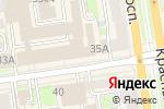 Схема проезда до компании Идея в Новосибирске