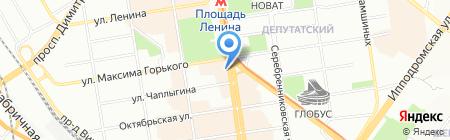 Лакомый кусочек на карте Новосибирска