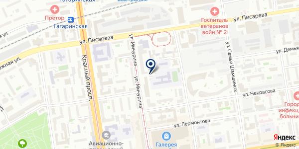 Мастерская по изготовлению ключей и ремонту обуви на карте Новосибирске