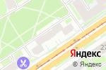 Схема проезда до компании Конек & Танец в Новосибирске
